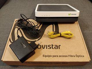 Router fibra óptica Movistar