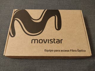 Router fibra óptica Movistar