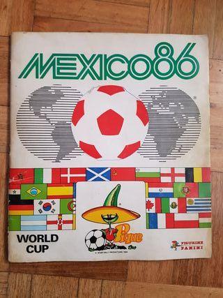 Álbum de cromos México 86