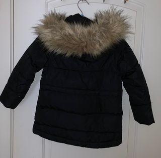 Abrigo Niña Mejor Zara Negro Comprar Incomparable El vgyIf76Yb