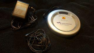 Discman Sony CD walkman con cargador.