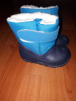Botas/descansos para nieve