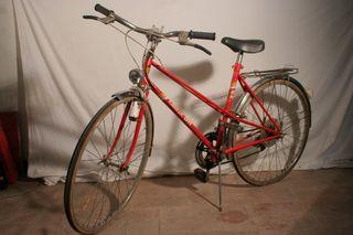 Bicicleta BH Gacela roja