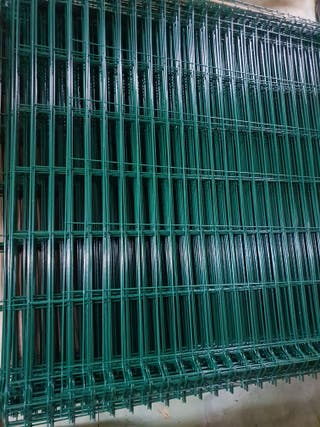 29 euro per panel. Green metal fence