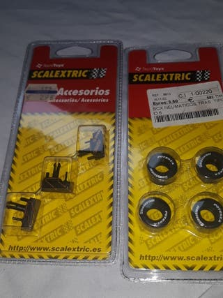 lote accesorios scalextric