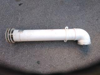 tubo evacuación de gases