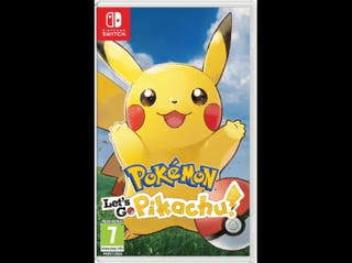 pokemon let's go Pikachu para Nintendo Switch
