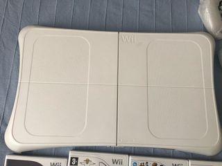 Wii+Balance board+mandos+juegos