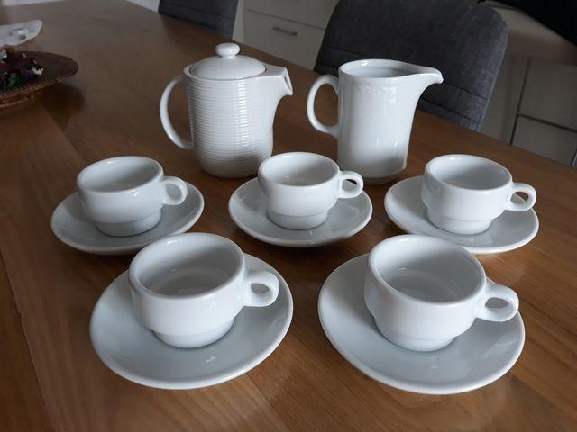 Juego de café porcelana