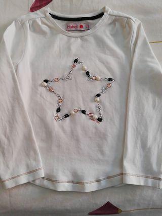 Camiseta Boboli niña 4 años (104 cm)