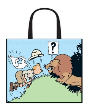 Bolsa Tintin en el congo