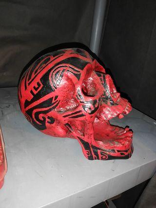 calavera tribal