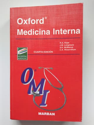 Oxford Medicina Interna. Editorial Marbán