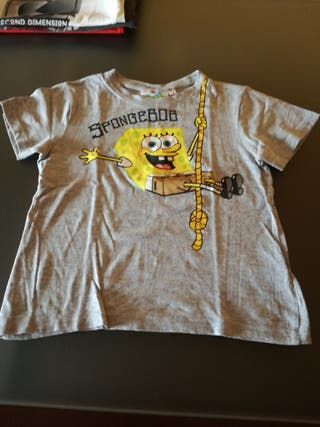 Camiseta manga corta niño, talla 4-5