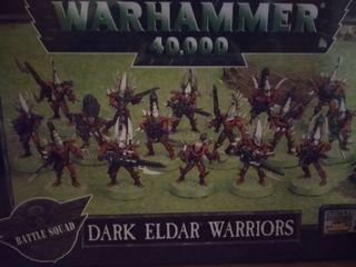 Dark eldars warriors warhammer 40.000
