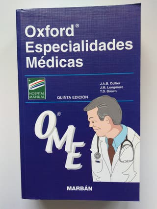 Oxford especialidades médicas. Editorial Marbán