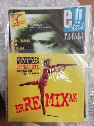 CD Fermin Muguruza y fanzine original de la época