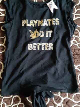 camiseta playmate