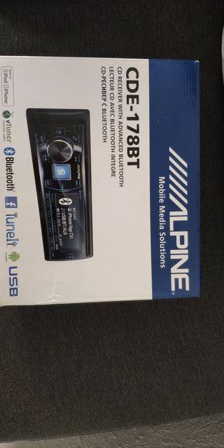 Radio Alpine CDE 178BT