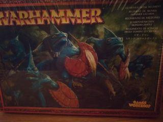 Regimiento de eslizones Warhammer fantasy