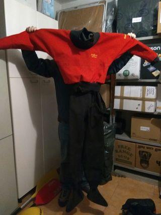 traje seco kayak