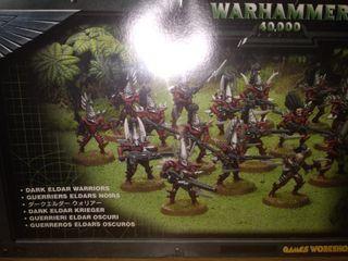 Guerreros eldars oscuros warhammer 40000