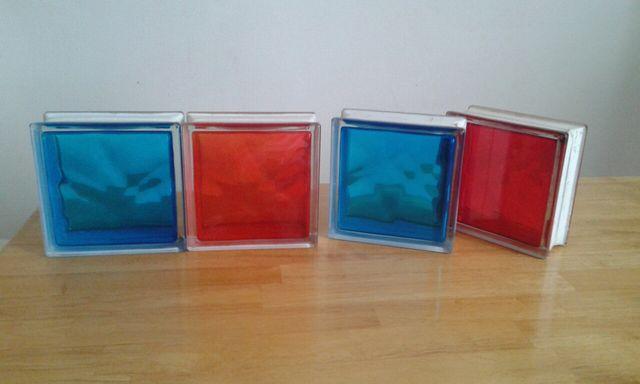 bloque vidrio 19x19x8cm