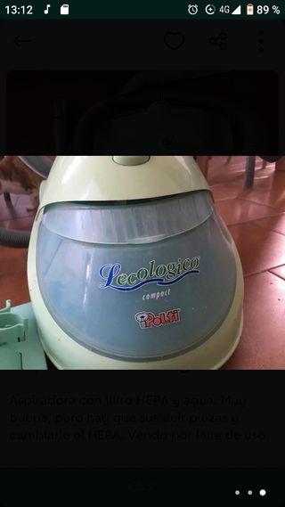 Aspiradora de agua Polti