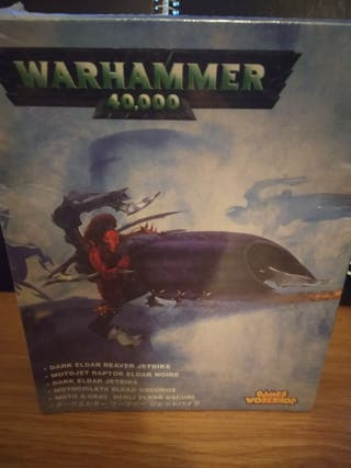 Motocicleta eldar oscuros Warhammer 40000