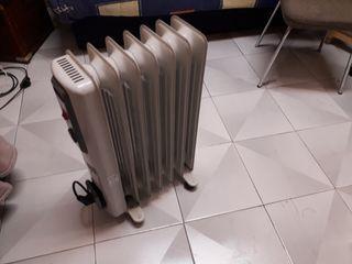 calefactor de aceite.