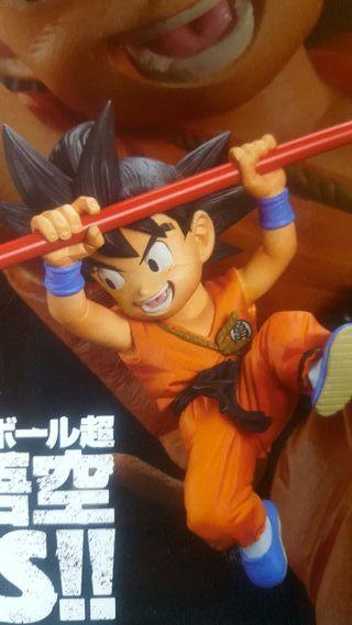 FES Goku kid niño ataque bastón
