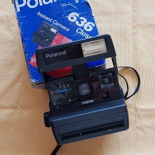 camara de fotos polaroid 636