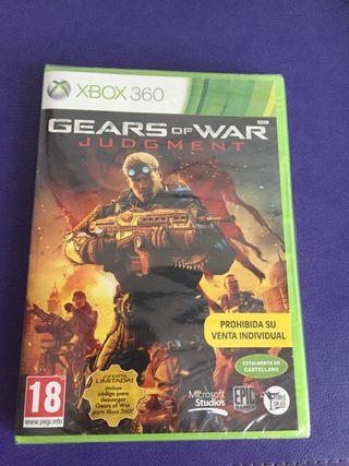 "Videojuego para Xbox 360 ""Gears of War""."