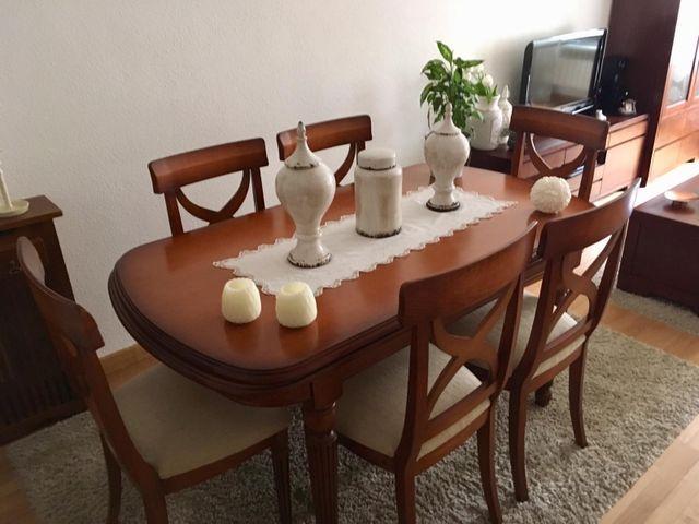 Mesa comedor extensible,sillas precio por separado de segunda mano ...