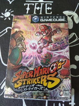Super mario strikers game cube JAPONES