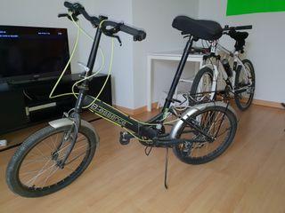 bicicleta folding. B-essence plegable