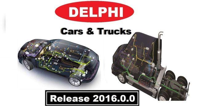 Delphi 2016.00 CAR & Truck Full Version Software