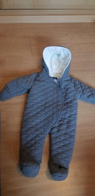 abrigo cuerpo entero bebe