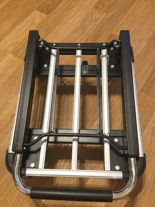 Aluminium flat bed trolley