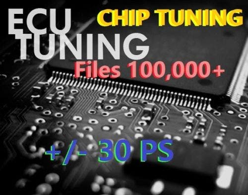 Chip Tuning ECU - Files 100,000 + Software MAPPS