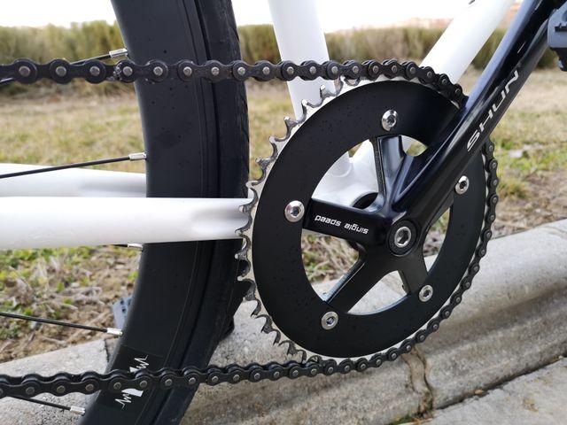 Bicicleta Fixie a partir de Orbea restaurada