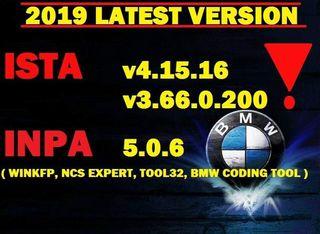 ISTA v4.15.16 / V3.66.0.200 + INPA