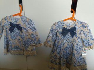 Dos vestidos niñas sin estrenar