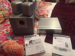 PHILIPS A5/600D (altavoces+subwoofer) y DVD Video
