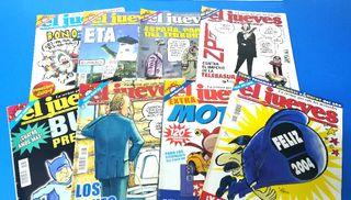 2004. 8 Revistas EL JUEVES