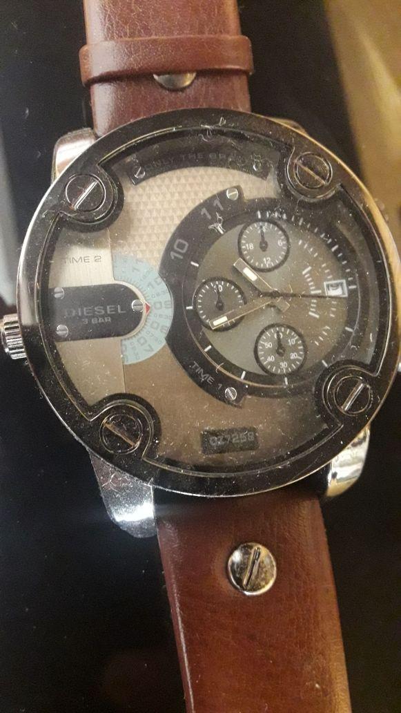 aecbf7765a54 Reloj Diesel Time 2 DZ-7258