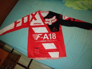 Camiseta Fox 180 Roja