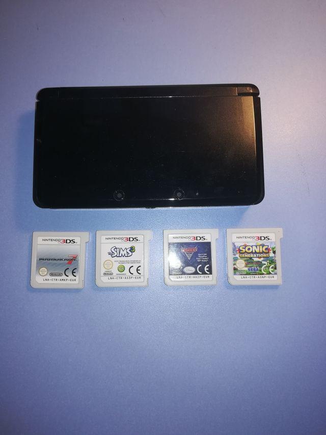 Nintendo 3ds + juegos + funda
