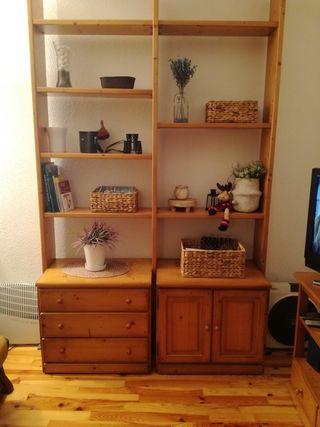 estanteria libreria mueble salon comedor