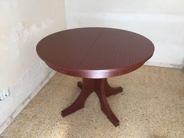 Mesa redonda comedor extensible de segunda mano por 50 € en ...